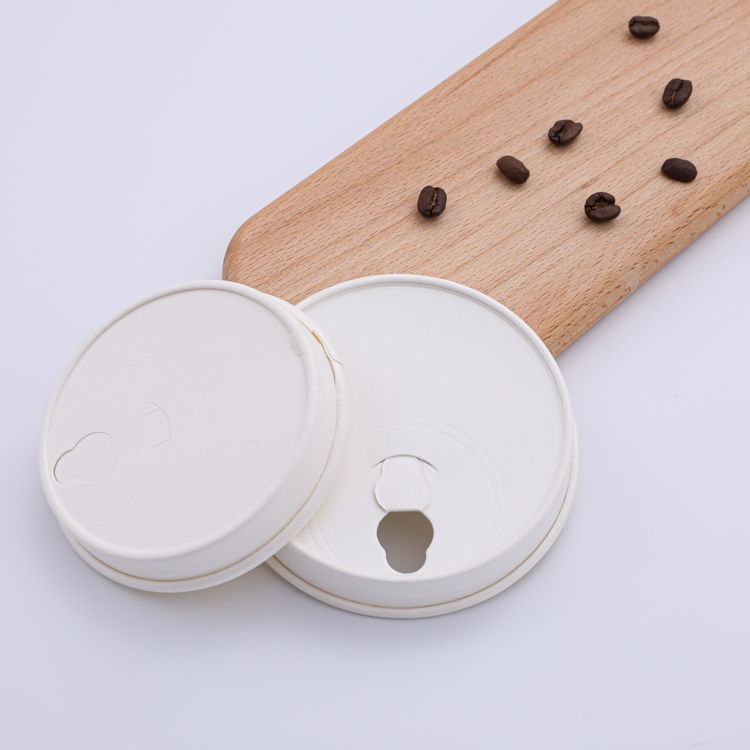 80mm 90mm disposable paper cup lid