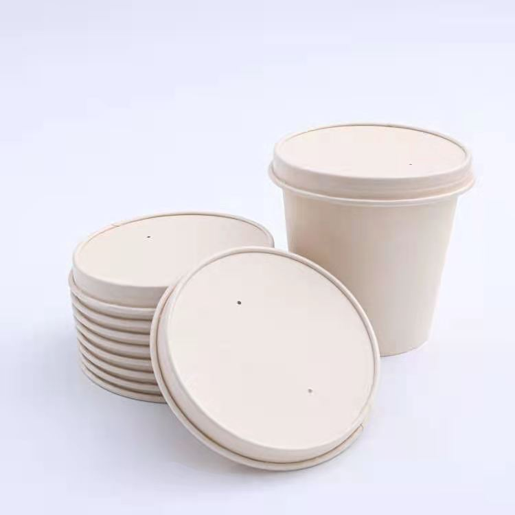 8oz paper bowls with 90mm lid