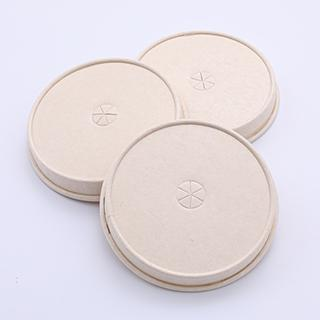 Disposable paper cup lid