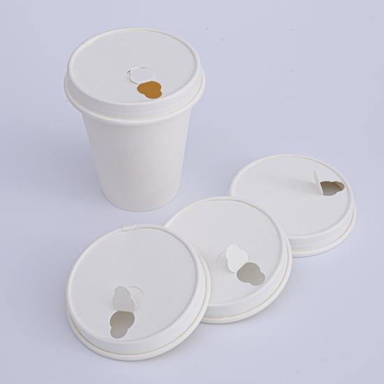 Biodegradable paper lid design