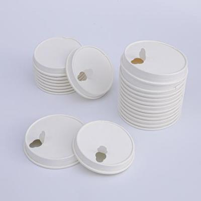 Compostable PLA coating paper cup lids