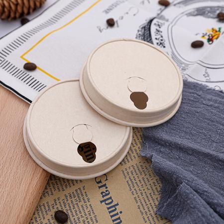 Durable paper lids for cups