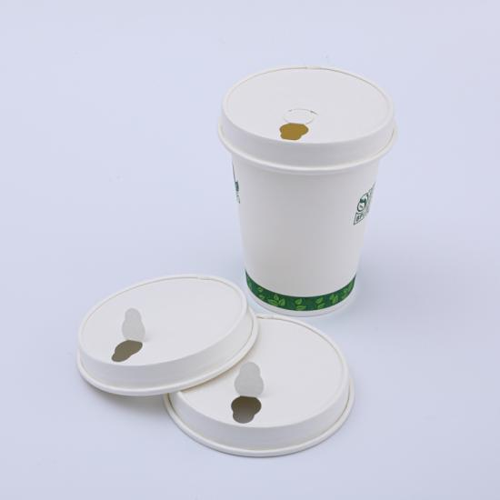 compostable disposable hot cups with lids