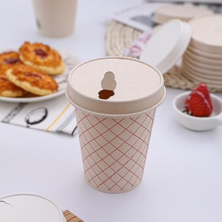 Reusable paper to go cups