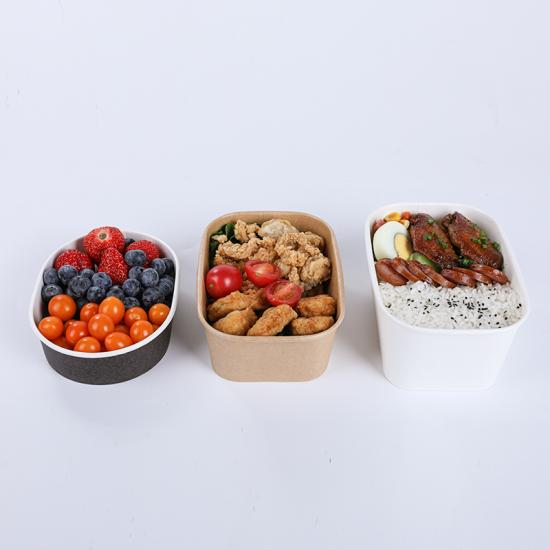 Custom printing paper serving bowl containers