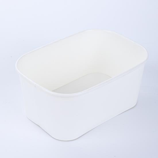 Glaman compostable disposable paper containers bowls